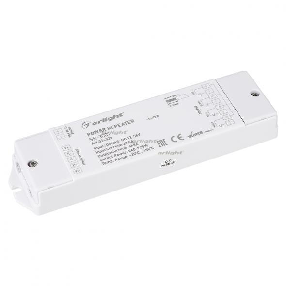 Arlight RGB-усилитель SR-3001 (12-36V, 240-720W, 4CH) omeci 20 36v