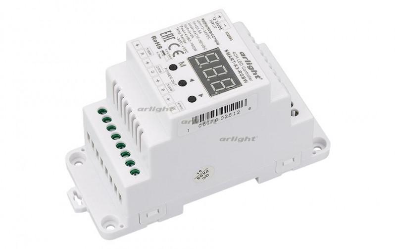 Arlight Контроллер SMART-K3-RGBW (12-36V, 240-720W, DIN) omeci 20 36v