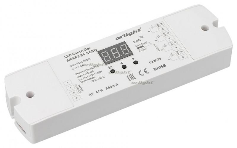 Arlight Контроллер тока SMART-K4-RGBW (12-36V, 4x350mA) omeci 20 36v