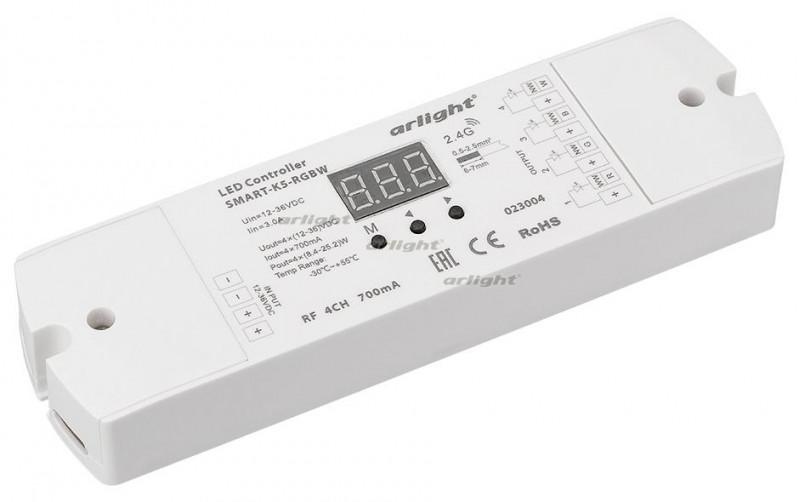 Arlight Контроллер тока SMART-K5-RGBW (12-36V, 4x700mA) omeci 20 36v
