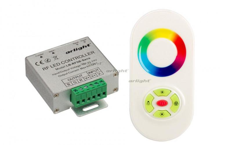 Arlight Контроллер LN-RF5B-Sens White (12-24V,180-360W) arlight контроллер sunlite slesa u8