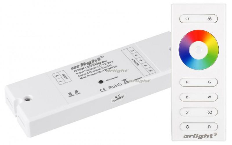 Arlight Контроллер SR-2839W White (12-24 В,240-480 Вт,RGBW,ПДУ сенсор))