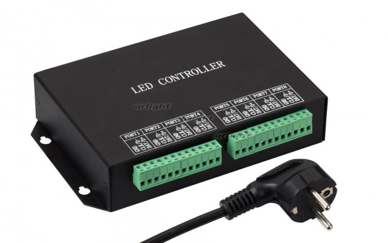 Arlight Контроллер HX-801RC (8192 pix, 220V, TCP/IP) tcp ip