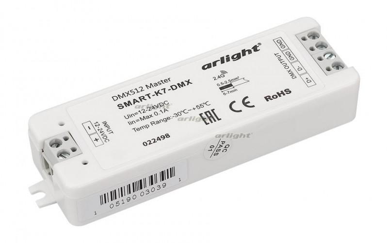 Arlight Контроллер SMART-K7-DMX (12-24V, 170pix) arlight контроллер sunlite slesa u8