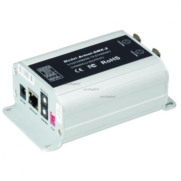 цена Arlight Контроллер LT-Artnet-DMX-2 (220V,1024CH)