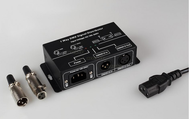 Arlight Усилитель DMX-сигнала LN-DMX-1CH (220V)