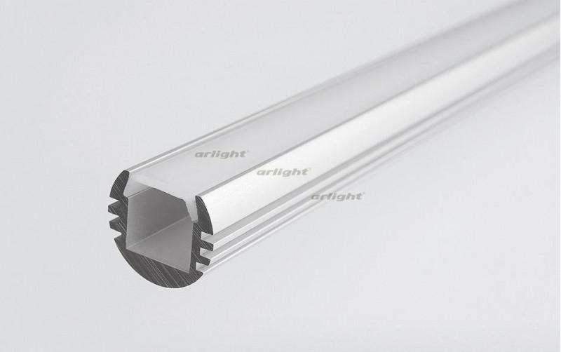 Arlight Алюминиевый Профиль 2 метра PDS-R-2000 ANOD arlight алюминиевый профиль 2 метра pds s 2000 anod white