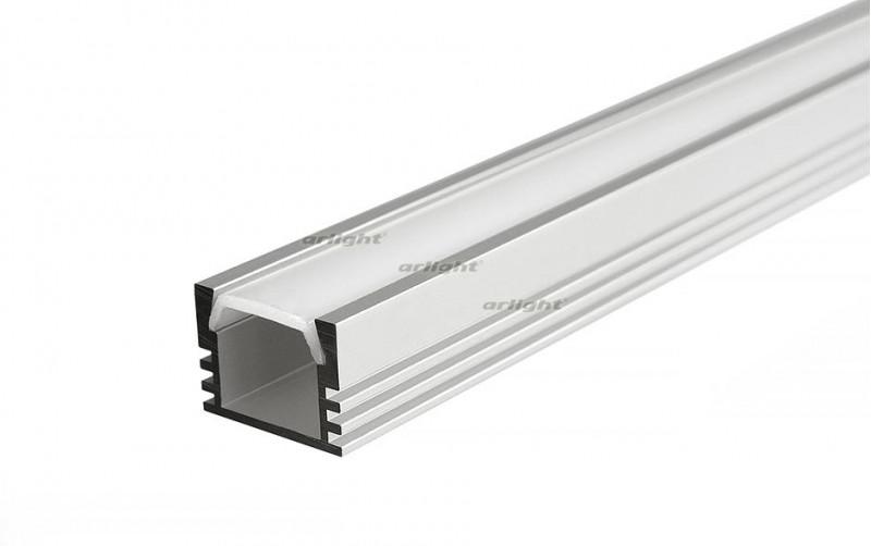 Arlight Алюминиевый Профиль 2 метра PDS-S-2000 ANOD arlight алюминиевый профиль 2 метра pds s 2000 anod white
