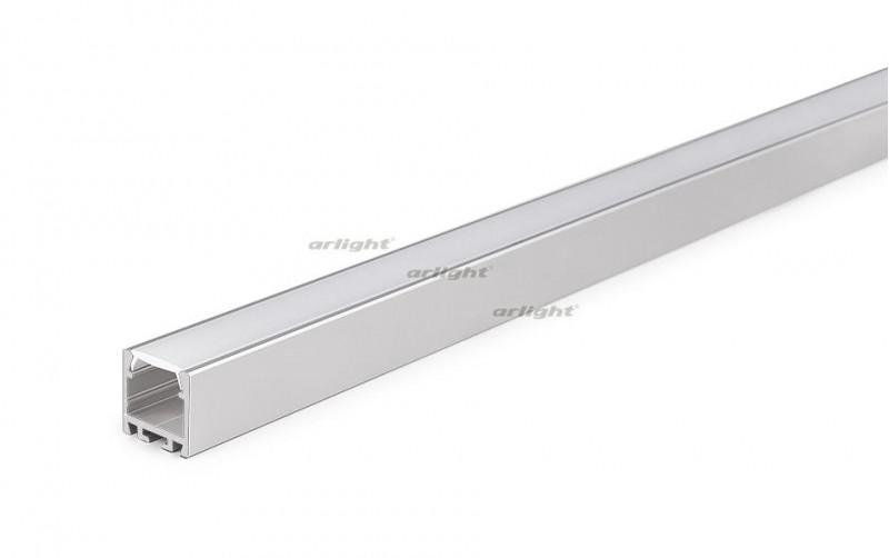 Arlight Алюминиевый Профиль 2 метра PDS-ZM-2000 ANOD arlight алюминиевый профиль 2 метра pds s 2000 anod white