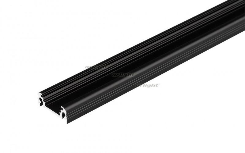 все цены на Arlight Алюминиевый Профиль 2 метра TOP-SURFACE-2000 BLACK (K13, P15) онлайн