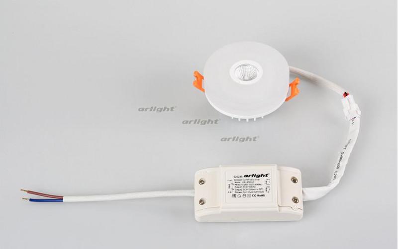 Arlight Светильник LTD-80R-Opal-Roll 2x3W White встраиваемый светильник 018905 arlight