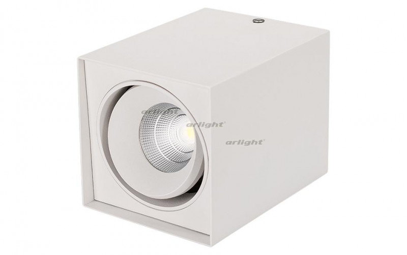 Arlight Светильник SP-CUBUS-S100x100WH-11W Day White 40deg arlight светильник sp cubus s100x100wh 11w warm white 40deg