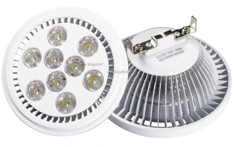 Arlight Светодиодная лампа MDSV-AR111-9x1W 35deg Warm White 12V equal to 100w led bulb lamp cree xpe xpg ar111 12w high power led ar111 gu53 12v led spotlight lamp warmwhite and coldwhite