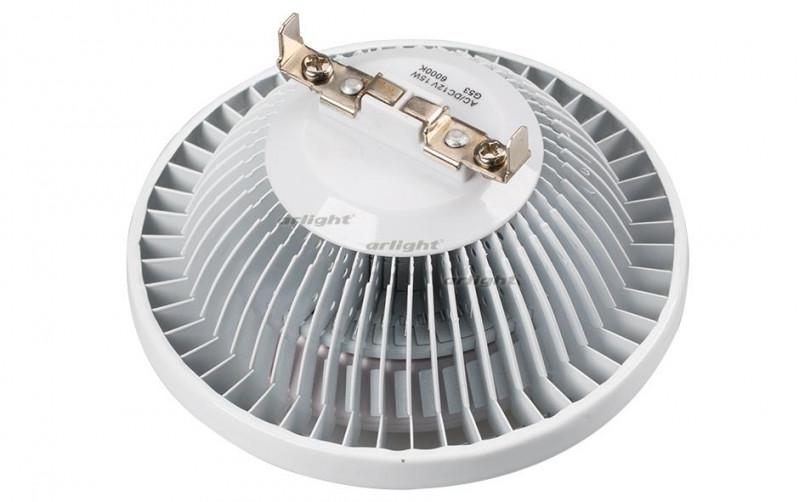 Arlight Светодиодная лампа MDSV-AR111-7x2W 35deg White 12V equal to 100w led bulb lamp cree xpe xpg ar111 12w high power led ar111 gu53 12v led spotlight lamp warmwhite and coldwhite