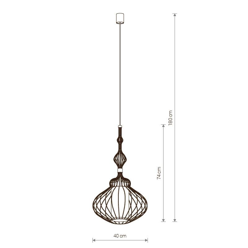 Купить Потолочный подвесной светильник Nowodvorski 8866 в Саратове цена прайс-лист