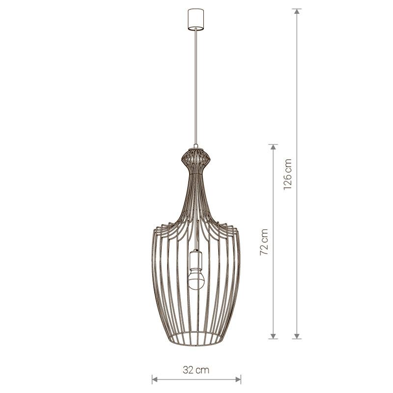 Купить Потолочный подвесной светильник Nowodvorski 8847 в Энгельсе цена прайс-лист