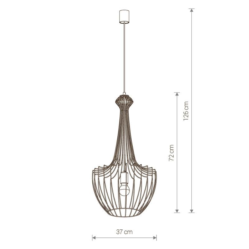 Купить Потолочный подвесной светильник Nowodvorski 8851 в Энгельсе цена прайс-лист